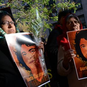 Foto: Protesta por muerte de Berta Cáceres en Honduras. Cortesía CIDH / Daniel Cima.
