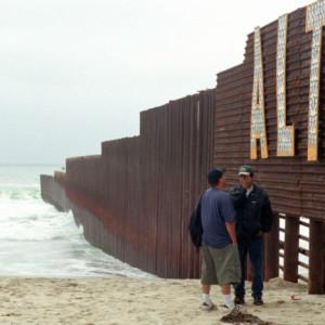 Migrantes en la frontera entre México y Estados Unidos. Foto: José Manuel Jiménez
